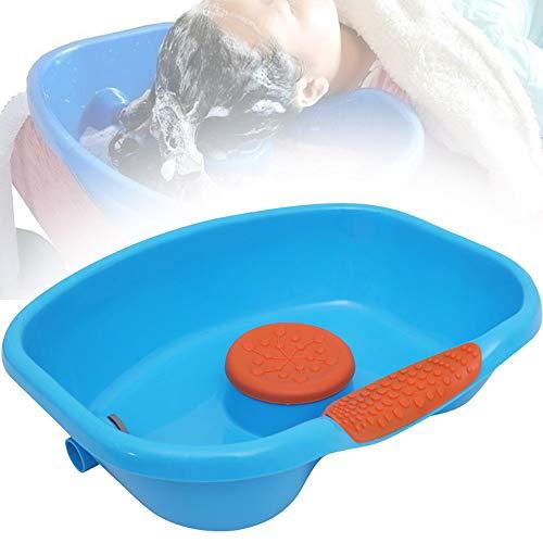 Haarwaschbecken für Bettlägrige Haare Waschen Im Bett, Shampoo-becken für ältere Patienten Und Schwangere aus Pp-material Mit Kopf- Und Nackenmassageteilchen