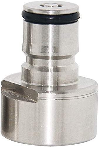 Namvo Rvs Keg Coupler Adapter Sankey naar Ball Lock Quick Disconnect Conversie Kit voor Thuis Brouwen