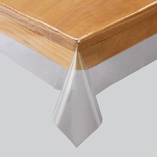 川島織物セルコン 透明ビニルクロス テーブルクロス 130×130cm JJ1029