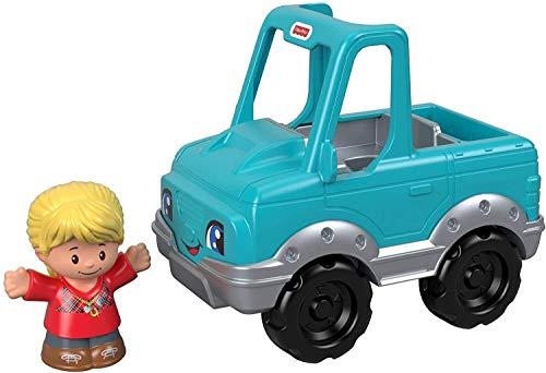 Fisher-Price Mattel – GJL17 Little People – Cowboy und Fahrzeug – Set mit Little People Figur und Fahrzeug