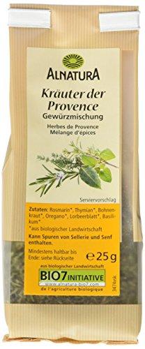 Alnatura Bio Kräuter der Provence, 7er Pack (7 x 25 g)