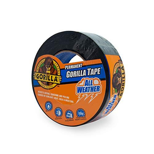 Gorilla 6009002 Weather Tape, 1-Pack, Black