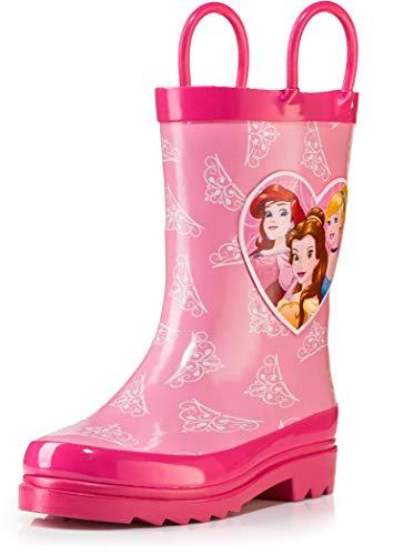 Disney Princess Girl's Pink Rain Boots - Size 13 Little Kid