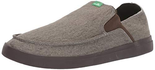 Sanuk Herren Slip-On Sneaker Pick Pocket, zum Reinschlüpfen, Turnschuh, Brindle, 38.5 EU