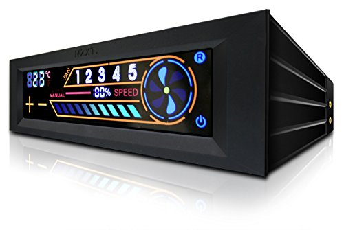 NZXT - Controlador de Ventilador Ordenador de 5 Canales con Pantalla tactil...