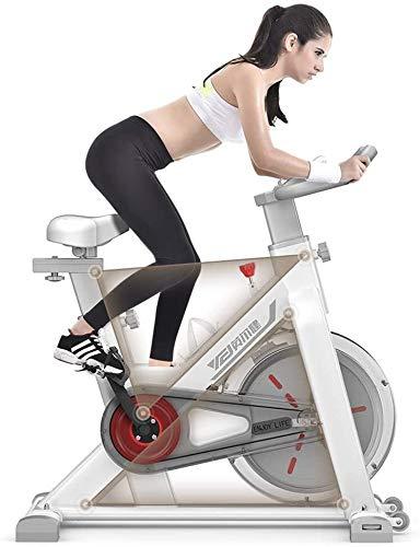 YZPJSQ Bicicleta estática, silenciosa transmisión del cinturón de Cubierta Ciclo de la Bici/Bicicleta de Ejercicio Vertical/Cubierta Ciclo de la Bici con Soporte for iPad/Bicicleta estacionaria/Salud