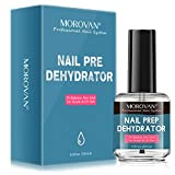 Professional Nail Polish Prep Dehydrator, Quick-drying Dehydrator Base Oil Nail Polish, for acrylic powder and gel nail polish, 0.52 oz-15ml 1Pc Dual-use, Manicure bonding Liquid