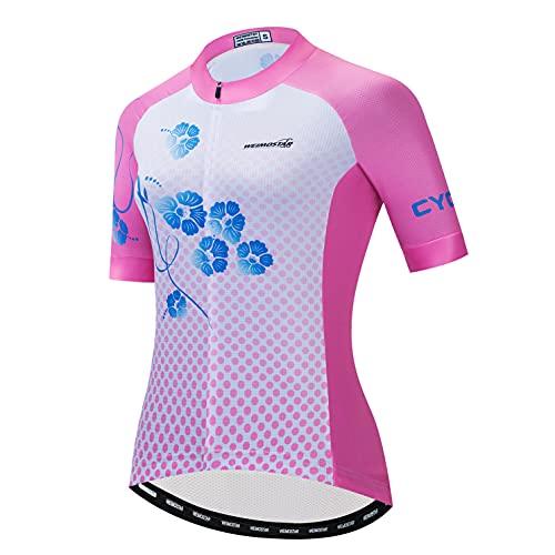 Maillot de ciclismo para mujer, camiseta de manga larga, ropa de montaña, deportes al aire