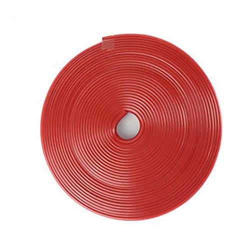 durable Decoración de protección de la rueda de color de la tira de goma de 8m 8m Decoración de protección contra ruedas con pegatinas de neumáticos para Honda FCX BRIO 3R-C Skydeck P-tuerca Wearable