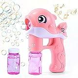 Bolle di Sapone,Macchina per Bolle, Bubble Maker Automatico,Carino Dolphin Bubble Machine ...