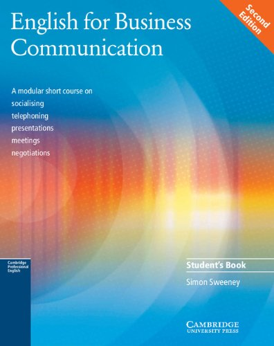 Sweeney, S: English for Business Communication Student\'s boo