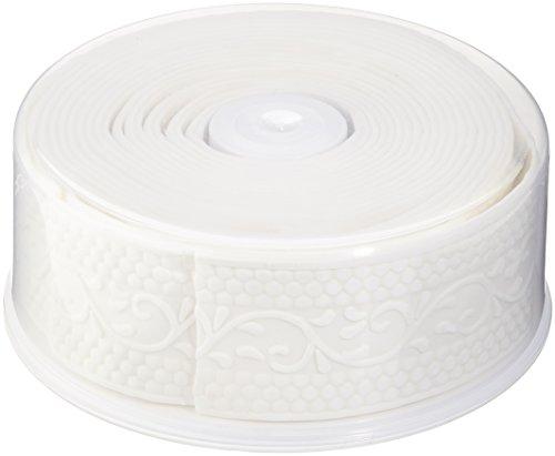 Cake Company Fondantrand 5m 5cm weiߟ Punkte und Ranke 1er Pack (1 x 700 g)