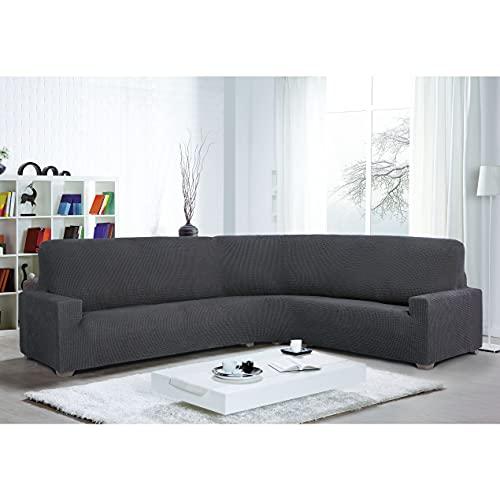 10XDIEZ Funda Sofa rinconera Glamour   (Gris )