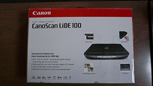 Best Price! CanoScan LiDE 100 Flatbed Scanner