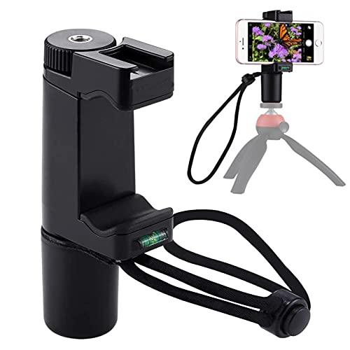 Tmom Estabilizador de cardán portátil para iPhone 12/11/X y Andriod Smartphone, Gimbal de mano Selfie Grip Estabilizador de teléfono móvil para Vlogging Live YouTube grabación de vídeo