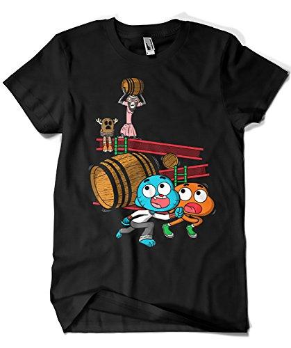 Camisetas La Colmena -  T-shirt - Uomo Nero  nero Small
