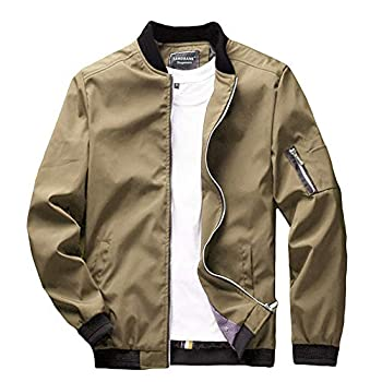 Best tan bomber jacket men Reviews