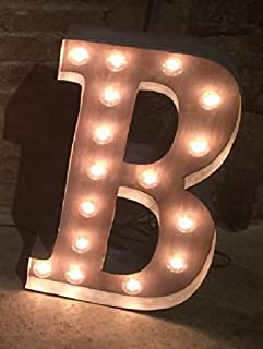 Custom marquee letter 18