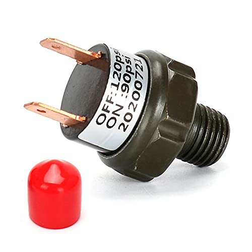 HSMIN Reparación Nuevo Kit For Tren HERNOS Air Horns Air SUSPENSIÓN Air Compresores Válvula De Interruptor De Presión 90-120PSI 120-150PSI 150-180PSI (Color : 90-120PSI)