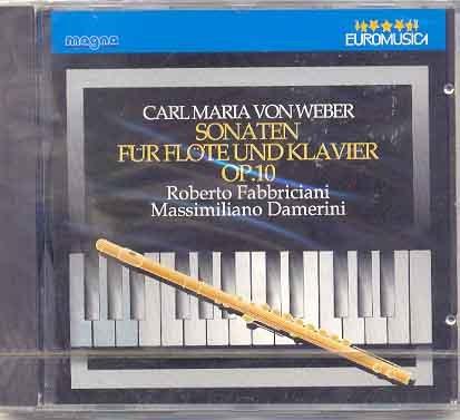 Carl Maria von Webern - Sonaten für Flöte und Klavier Op 10