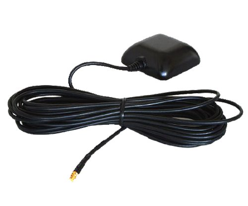 Externe GPS Antenne Becker Magnetisch, wasserfest, aktiv, 5 Meter Kabel für Traffic Assist 7914 7927 7928 7988 Z100 Z099 Z250 Z103 Z203 Z204 TRAFFIC ASSIST PRO Z 250 FERRARI EDITION Crocodile...