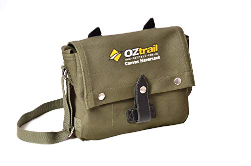 Borsa zaino in tela Canvas Haversack Bag BPC-HAV-D 26x30x5cm Heavy-Duty Canvas Bag, Messenger bag, Satchel Or Cross Body bag