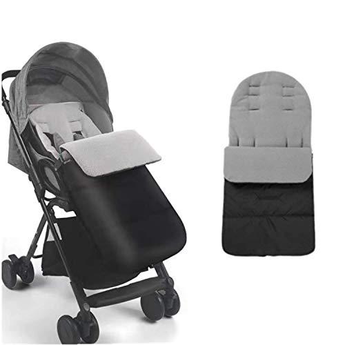 Winter Fußsack LCW-direct für Kinderwagen Warm Fußmatte Abdeckung Wimpelkette Schlafsack Universal Winddicht Wasserdicht Abnehmbar