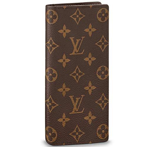 Louis Vuitton Monogram Canvas Brazza Wallet Article: M66540