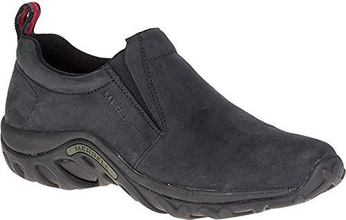 Merrell Men's Jungle Moc Nubuck Slip-On Shoe,Black Nubuck,9 M US