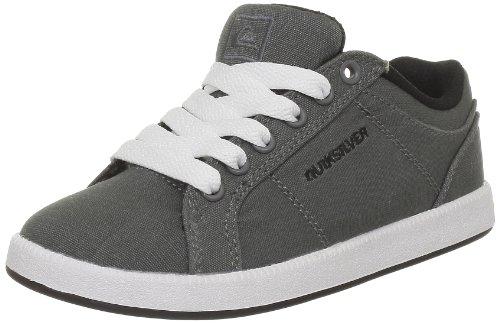 Quiksilver Little Area 5 Slim CVS KRBSL192, Jungen Sneaker, Grau (Grey Black WHT), EU 38