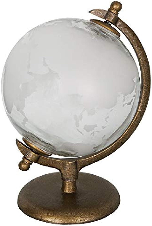 marca Antic Line - Globo Globo Globo terráqueo (Cristal, 20 x 30 cm)  hermoso
