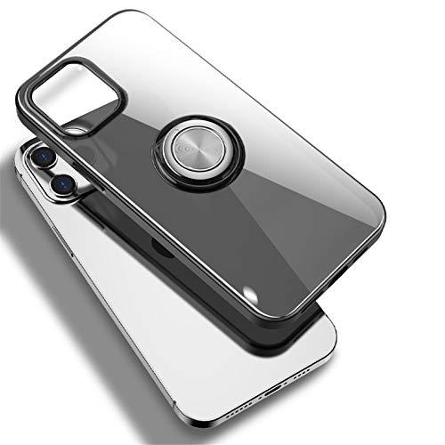 Jiur Funda Compatible con Funda iPhone 12 / Compatible con Funda iPhone 12 Pro Funda Compatible con iPhone 12 Pro MAX Funda - Funda Transparente anticaída a Prueba de Golpes
