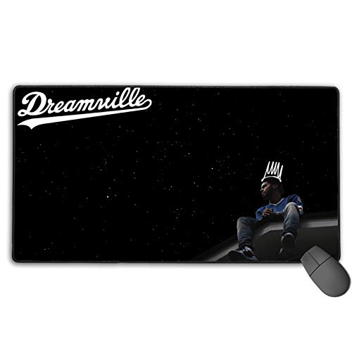 J. Cole Mouse pad Non-Slip Rubber Base Gaming Mouse pad for Laptop Office 20x20inch