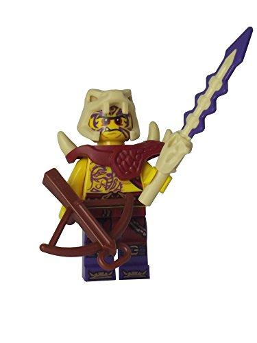 LEGO Ninjago: Minifigur Zugu (Gefolgsmann von Chen) mit Knochenschwert und Armbrust