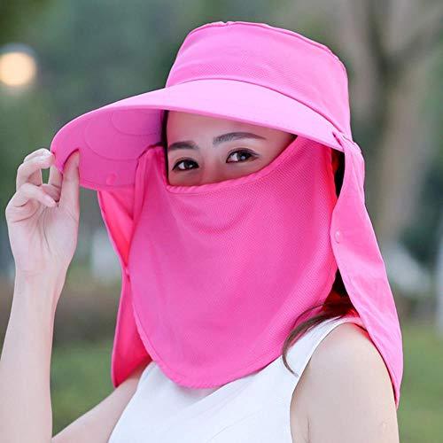 Ga-yinuo Sombrero de Sol de Mujer Sombrero de protección Solar Sombrero de...