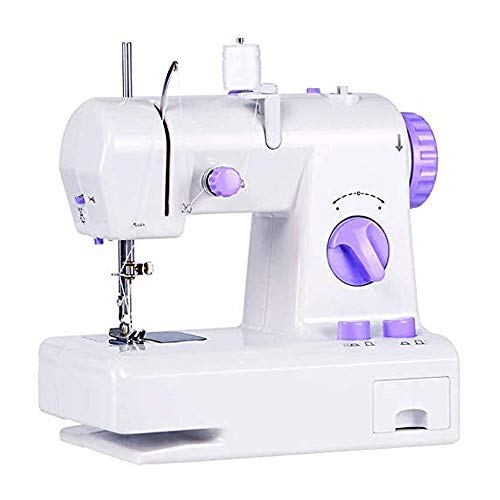N/X Multifunction Sewing Machine, 12 Stitches Double Speed Heavy Duty Sew Machine, Automatic Needle Threader and Free Arm, LED Sewing Light, Best Sewing Machine for Beginners