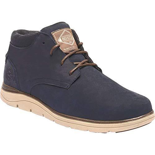 Regatta Brockhurst Low Rise Shoe, Botas Chukka para Hombre, Azul (Navy/Chocolate 468), 39 EU