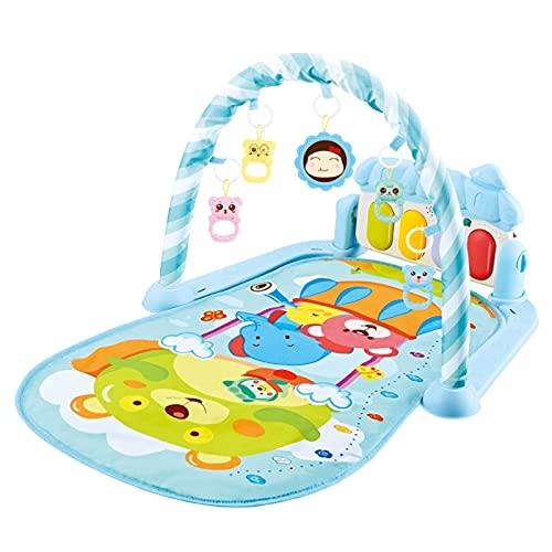 NGLSCXR Alfombrilla de gimnasio para piano de bebé, juego de gimnasio para bebé, recién nacido, juego de música con arcos, con música y sonidos, adecuado a partir de 0 meses para bebés (color: 7)
