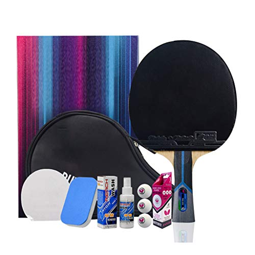For Sale! JD Home 8 Stars Table Tennis Paddle Professional - Ping Pong Paddle with Carrying Case –...