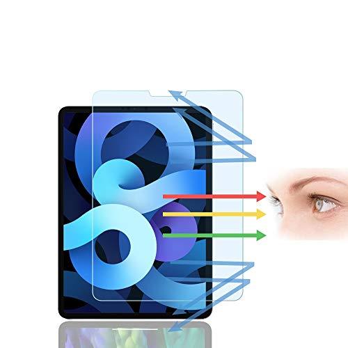 PaceBid Anti Luz Azul Protector de Pantalla Compatible con iPad Air 4 2020/ Pro 11 2020/2018, [Alivie la Fatiga Ocular][Bloquea Excesivas la luz Azul Dañina & UV Rayos ][Compatible con ID de Cara]