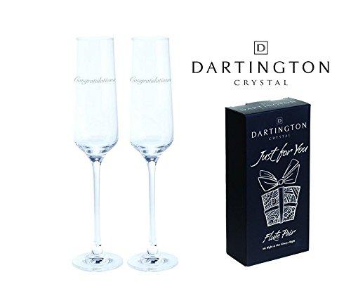Dartington kristal gewoon voor u hand gegraveerd