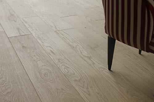 Pavimento legno prefinito in Rovere spazzolato rustico Verniciato naturale mm.15x180 lunghezza cm. 160 conf.pz.4 mq. 1,152. Made in Italy.