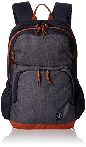 Volcom - Roamer Backpack, Mochilas Hombre, Blau (Navy), 17x32x47 cm (B x H T)