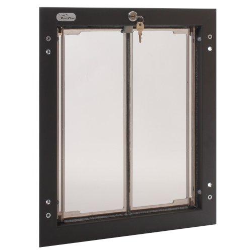 Plexidor Performance Pet Türen groß Bronze Tür Montage