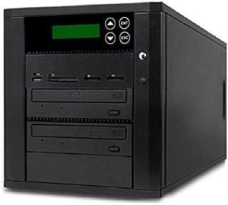 Acumen Disc DV-901-SSP Flash Memory Drive to Media Disc Duplicator with 1-1 Target DVD/CD Burners (with MS, CF, SD, MMC, USB Slots)