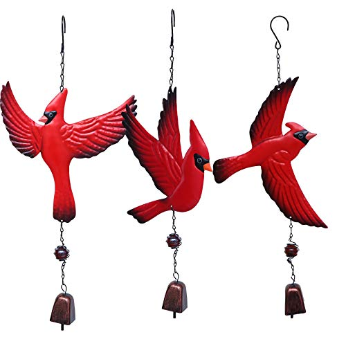 Housoutil Windspiele, 3 Stück dekorative Windspiele Modische Windglocken-Ornamente für den Hausgarten