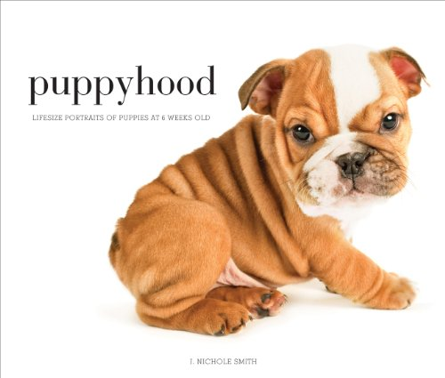 Puppyhood: Life-Size Portraits of Puppies at 6 Weeks Old