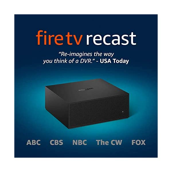 Fire TV Recast, over-the-air DVR, 1 TB, 150 hours, DVR for cord cutters 1