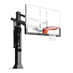 top high end permanent outdoor basketball goal
