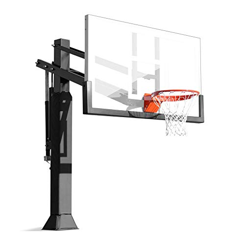 Pro Dunk Gold with Rust Armor Best Selling Driveway Basketball Goal Hoop with a High-Performance...